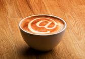 Concetto di internet café — Foto Stock
