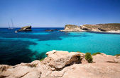 Blue Lagoon Malta — Stock Photo