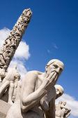 Sculpture Park Oslo — Stock Photo