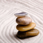 Zen Rock Garden — Stock Photo