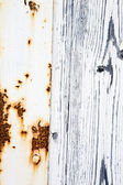 Rust and Wood — Stock Photo