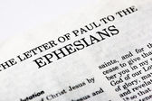 Book of Ephesians — Stock Photo