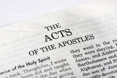 Book of Acts — Stock Photo