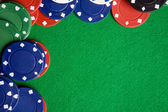 Poker Background — Stock Photo