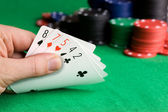 Poker Bluff — Stock Photo