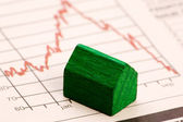 Housing Market Risk — Stock Photo