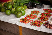 Vegetable and Fruit Market — Stockfoto