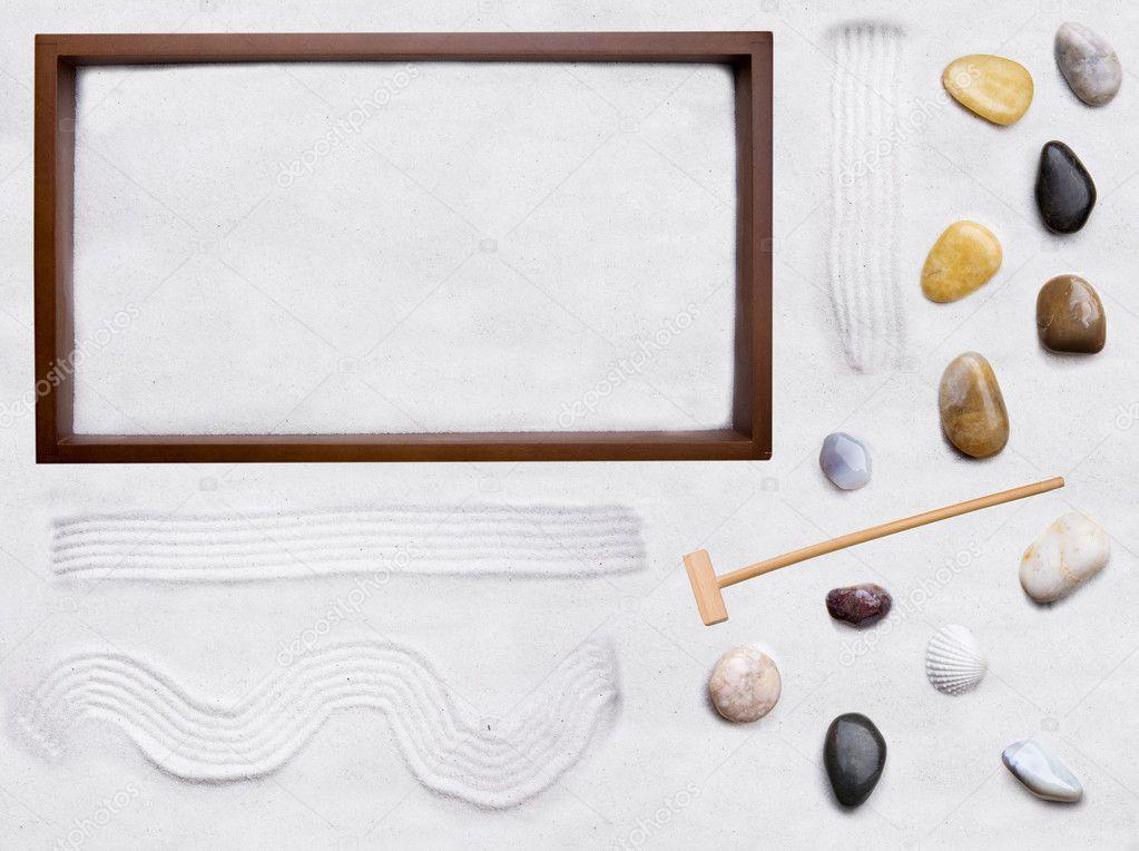 Jardim Zen  faça você mesmo — Fotografias de Stock © SimpleFoto