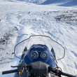 Стоковое фото: Snowmobile Winter Landscape