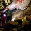 Cave Exploration - Foto Stock