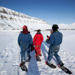 Svalbard Tourism - Stock Photo