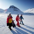 Svalbard Tourism — Stock Photo