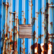Foto Stock: Shipping Container Texture
