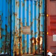 shipping container textuur — Stockfoto #5690907