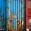 Shipping Container-Textur — Stockfoto