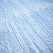 Snowmobile Track Texture - Stock Photo