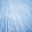 Snowmobile Track Texture — Stock Photo