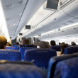 Airplane Interior — Foto Stock