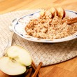 Apple Cinnamon Porridge — Stock Photo #5691730