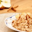 Apple Cinnamon Porridge — Stock Photo