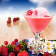 Milk shake smoothie — Stockfoto