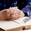 Stock Photo: Hands Praying