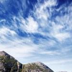 挪威峡湾景观 — 图库照片
