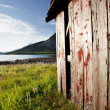 Boat House Norway — Stockfoto