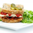 Denver Sandwich - Stock Photo