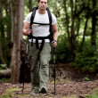 Male Backpacker - Photo
