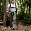 Male Backpacker - Stock Photo