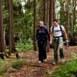 Camping Hike Couple — Stock Photo #5695438