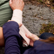 Arm Bandage — Stockfoto