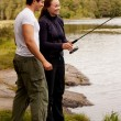 Fishing Fun - Stock Photo
