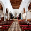 Interior Old Cathedral - Stock Photo