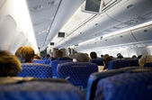 Airplane Interior — Stockfoto