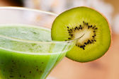 Kiwi Fruit Drink — Stock Photo