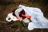 Betrunken person — Stockfoto