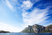 Mountain Coast — Stock Photo