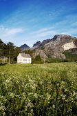 Dom norwegia — Zdjęcie stockowe