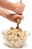 Cookie Dough Mix — Stock Photo