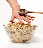 Cookie Dough Snack — Stock Photo