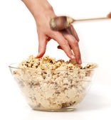 Sneak Cookie Dough — Stock Photo