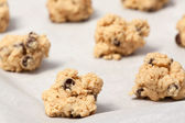 Raw Cookie Dough — Stock Photo