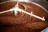 Roasting Coffee Beans — Stock Photo
