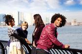City Friends — Stock Photo