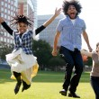 Jump for Joy - Stock Photo