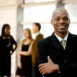 Happy Black Businessman — Stock Photo #5701908