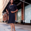Business Woman on Street — Stock Photo #5702027