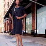 Business Woman on Street — Stock Photo